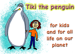 Tiki the Penguin Logo