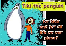Tiki the Penguin Logo