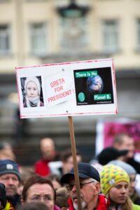 Greta for president - demo